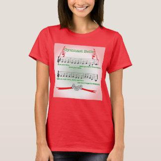 Camisa vermelha do treinador da canção do Natal da