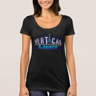 Camisa vertical do limite das mulheres
