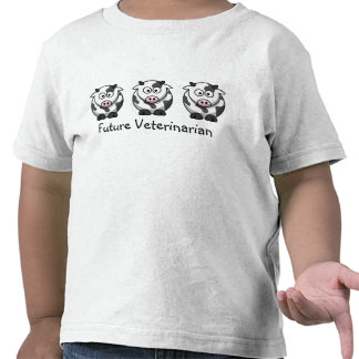 Camisa veterinária futura camisetas