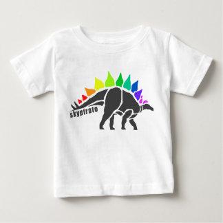 Camisa vibrante da criança de Dino