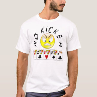 camisa video do póquer