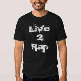 Camisa viva do rap 2 Sic1Eight Camisetas