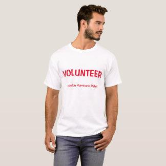 Camisa voluntária da identificação