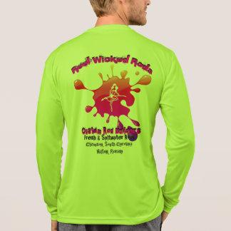 Camisa wicking da umidade do sportec dos homens