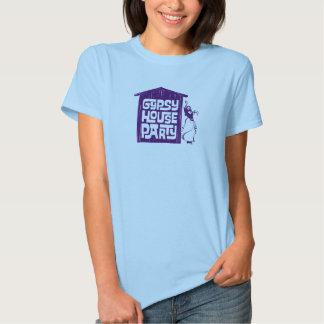 Camisas aciganadas da festa em casa camisetas
