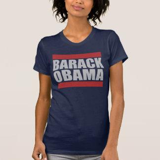 Camisas brancas de Barack Obama & azuis vermelhas