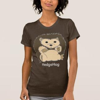 Camisas coloridas obscuridade do ouriço t-shirts