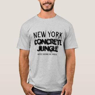 CAMISAS CONCRETAS DA SELVA DE NEW YORK