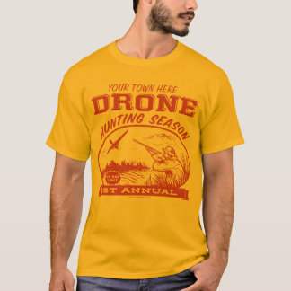 Camisas customizáveis da época de caça do zangão