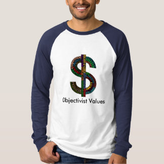Camisas customizáveis de Objectivist