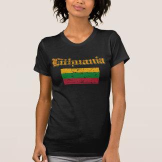 Camisas da bandeira de Lithiuanian