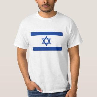 Camisas da bandeira t de Israel