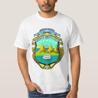 Camisas da brasão de Costa Rica Camisetas