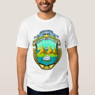 Camisas da brasão de Costa Rica Tshirts