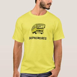 Camisas da classe de estudante de segundo ano de