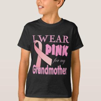 Camisas da consciência T do cancro da mama para a