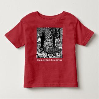 Camisas da Eco-Arte do parque de Stanley dos
