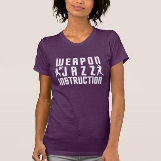 Camisas da instrução do jazz - escolha o estilo,