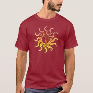 Camisas da obscuridade de Chai Menorah Sun