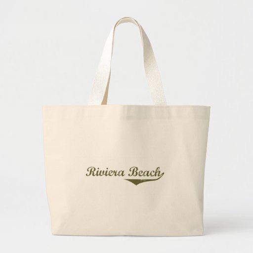 Camisas da revolução t da praia de Riviera Bolsas De Lona