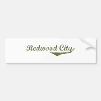 Camisas da revolução t de Redwood City Adesivo Para Carro