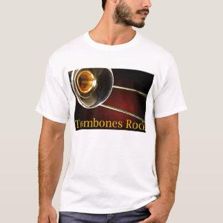 Camisas da rocha dos Trombones