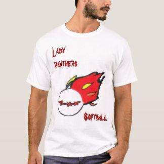 Camisas da senhora Pantera Softball