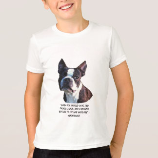 Camisas de Boston bull terrier
