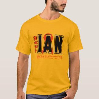 Camisas de Ian 5K da equipe
