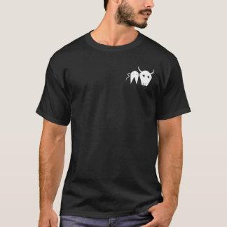Camisas de madeira da obscuridade do crachá