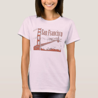 CAMISAS DE SAN FRANCISCO GOLDEN GATE BRIDGE