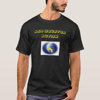 Camisas do autismo de ASD Houston (preto)