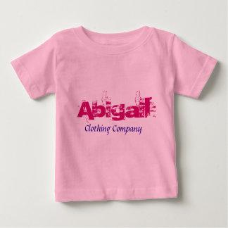 Camisas do bebê de Abigail Nome Roupa Empresa T-shirts
