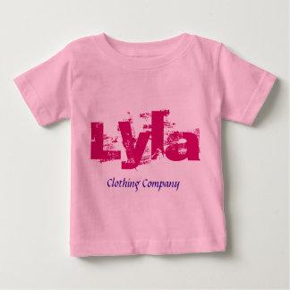 Camisas do bebê de Lyla Nome Roupa Empresa T-shirt