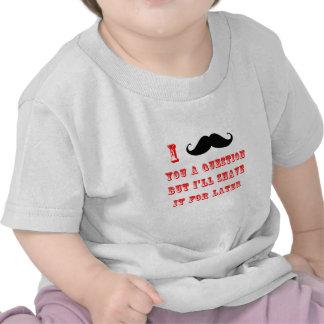 Camisas do bigode T T-shirts