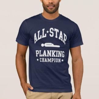 Camisas do campeão T do Planking de All Star