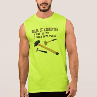 Camisas do carpinteiro