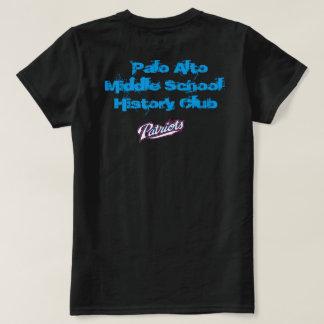 Camisas do clube da história de Palo Alto