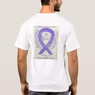 Camisas do costume do anjo da fita da consciência