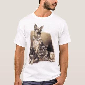 Camisas do german shepherd