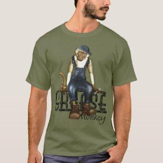 Camisas do macaco de graxa T dos mecânicos