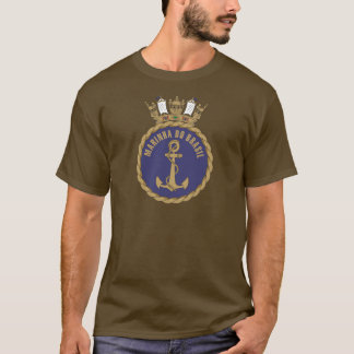 """Camisas do marinho brasileiro"" Tshirts"
