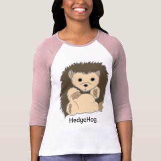 Camisas do ouriço com seu próprio texto camisetas