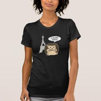 Camisas do ouriço de J'Adore Paris Tshirt