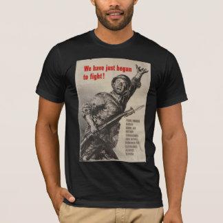 Camisas do poster da guerra do vintage