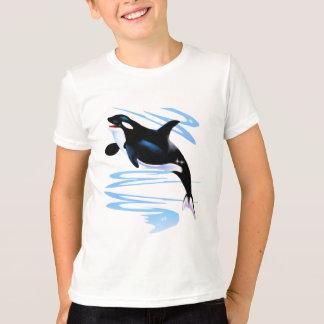 Camisas do respingo da orca