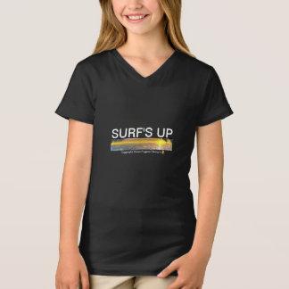 Camisas do surfista