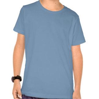 Camisas do T do miúdo com a bandeira de Union Jack T-shirts