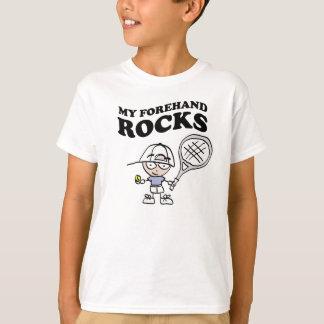 Camisas do tênis t para miúdos com dizer engraçado