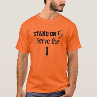 Camisas dos homens do suporte e do saque de JFIA